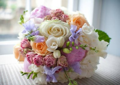 Pastel Shades Brides Bouquet