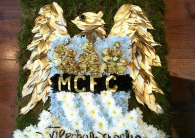 Manchester City Sympathy Tribute